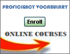 Vocabulary Online Courses