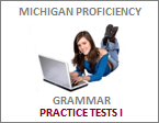 ECPE GRAMMAR ONLINE TESTS I
