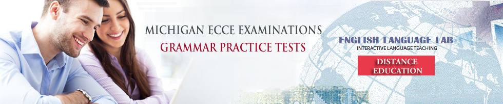 ecce grammar practice tests