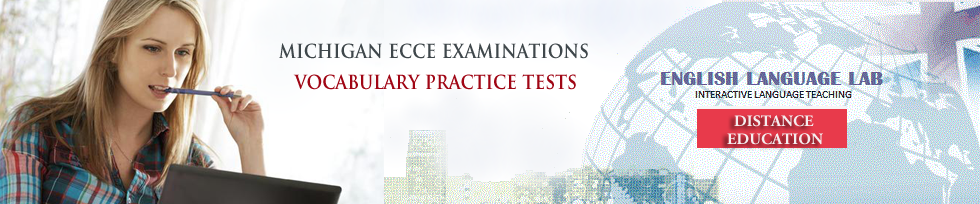 ecce vocabulary practice tests